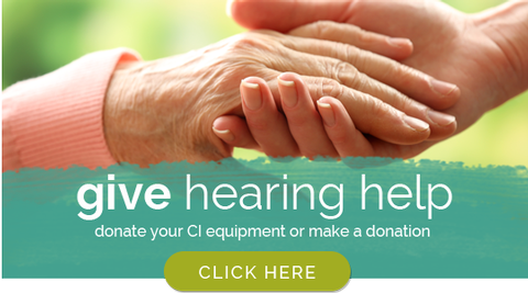 Give hearing help
